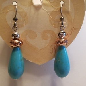 Brighton Copper Canyon French Wire Earrings*